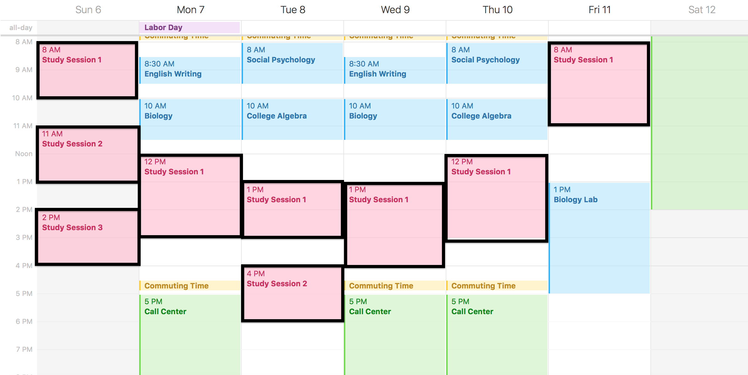 Study Schedule Template - 5 Free Templates - Schedule ...